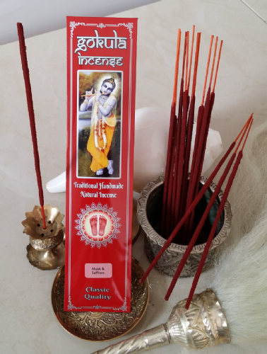 Musk & Saffron Incense Sticks - 20 grams